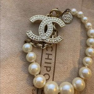 CHANEL Jewelry - Chanel pearl bracelet 100th anniversary